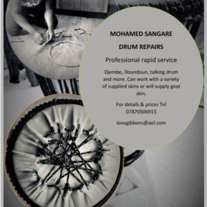 Mohamed Sangare Drum Repairs Photo 3